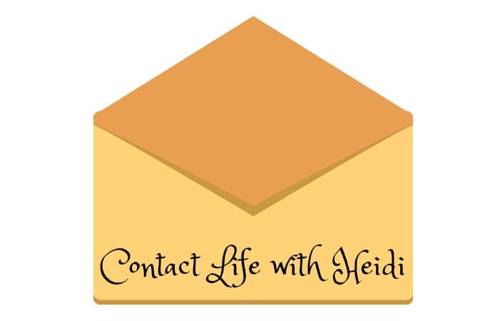 Contact Life with Heidi