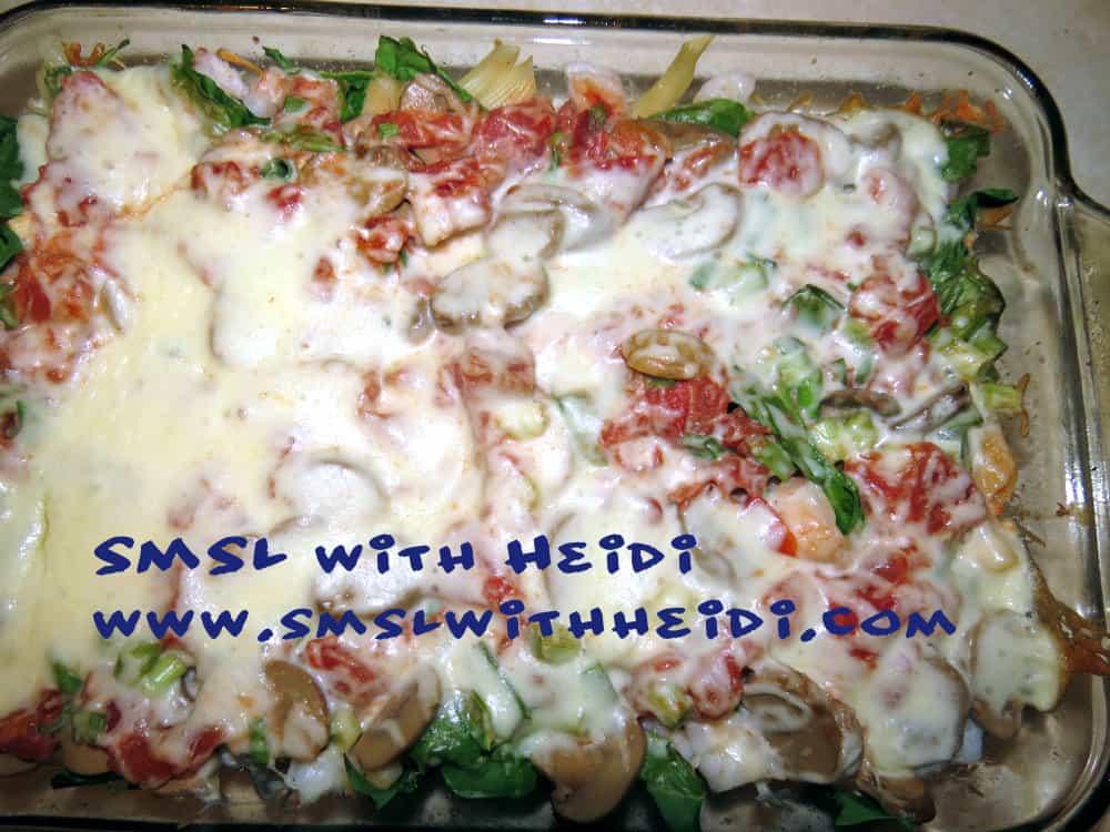 Shrimp Alfredo the Nutritious Way