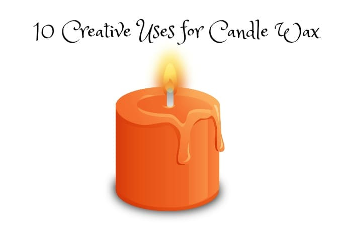 10 Creative Uses for Candle Wax