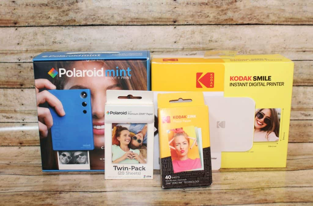 Great portable printers and cameras