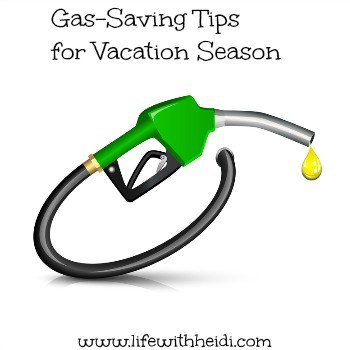 Gas-Saving Tips for Vacation Season