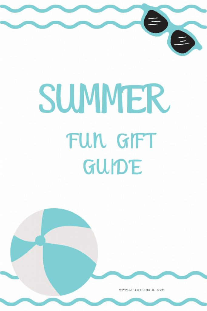 Summer Fun Gift Guide