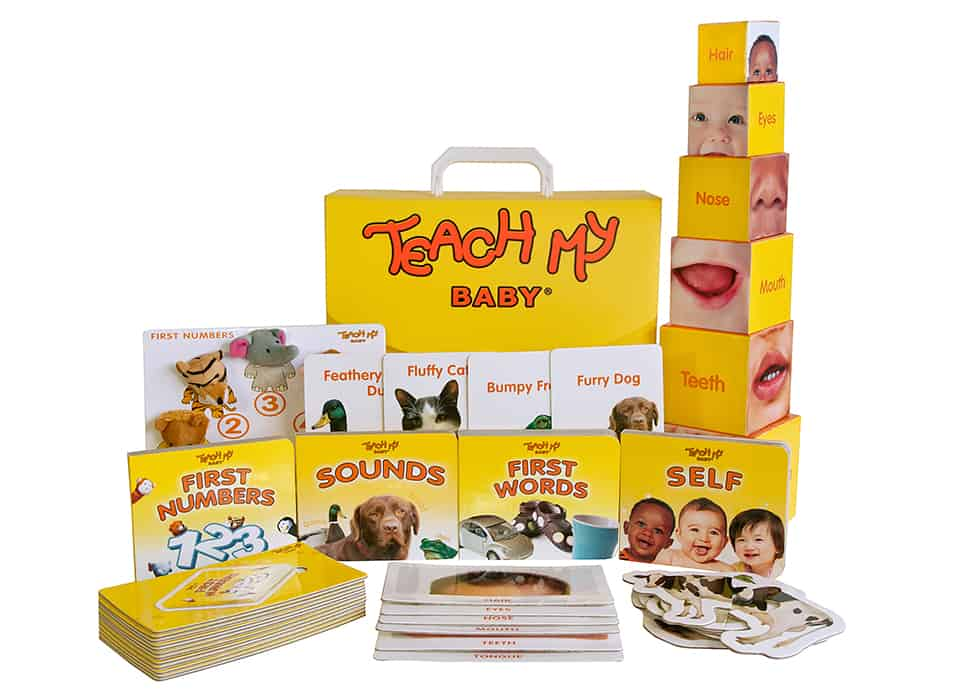 Teach My Baby is the perfect baby shower gift or gift for grandkids to get them loving education early in life.