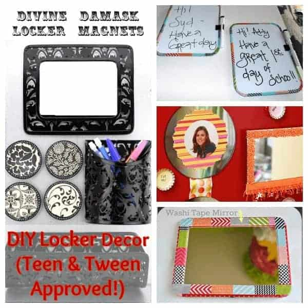 DIY Crafts for School Lockers