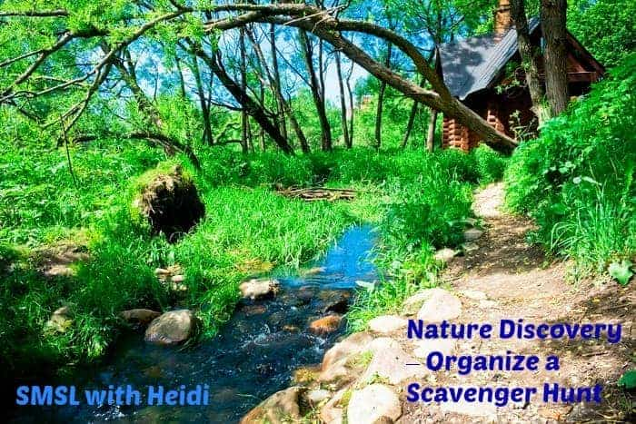 Nature Discovery – Organize a Scavenger Hunt