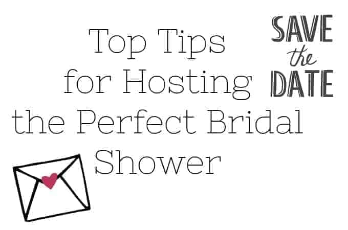 Top Tips for Hosting the Perfect Bridal Shower