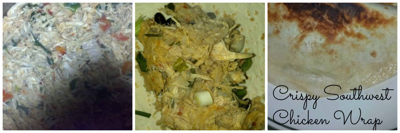 Crispy Southwest Chicken Wrap Recipe