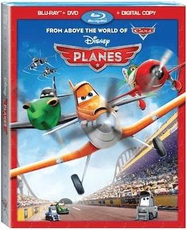 Planes on DVD 11/19/13