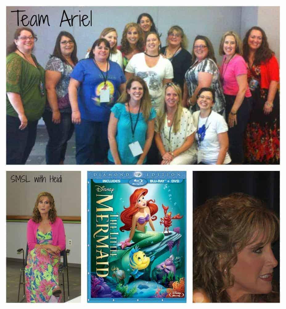 Jodi Benson Interview the voice of Ariel