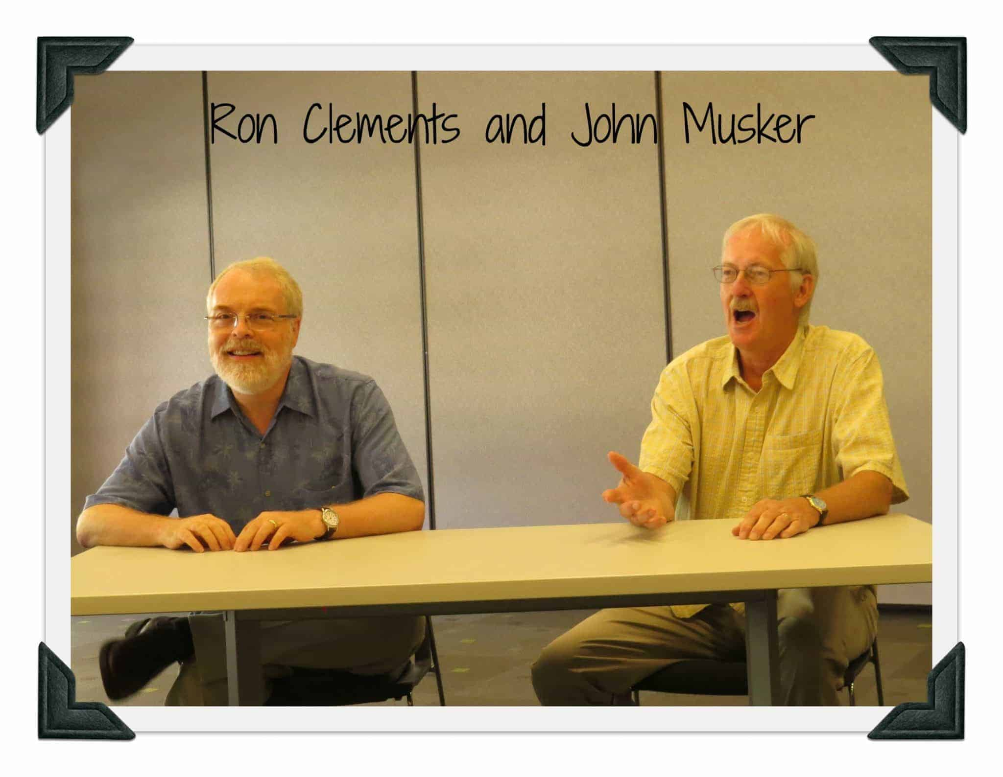 Interview with John Musker and Ron Clements Writers The Little Mermaid