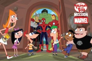 Phineas and Ferb Mission Marvel Review and Posters