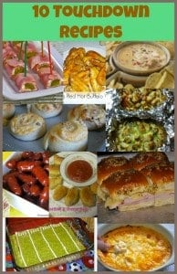 Football Foods Recipes