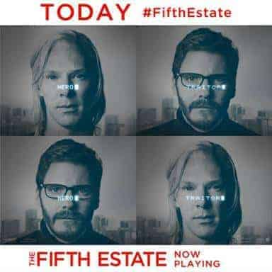 The Fifth Estate Now Playing