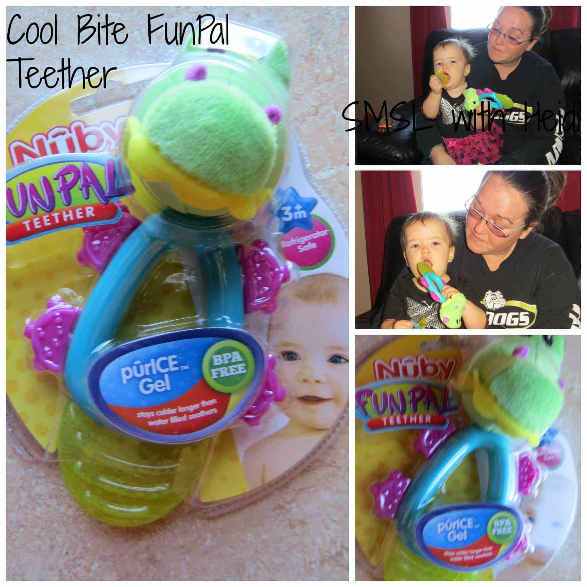 Coolbite FunPal Teether from Nuby