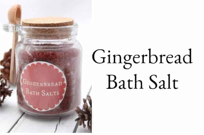 Gingerbread Bath Salt