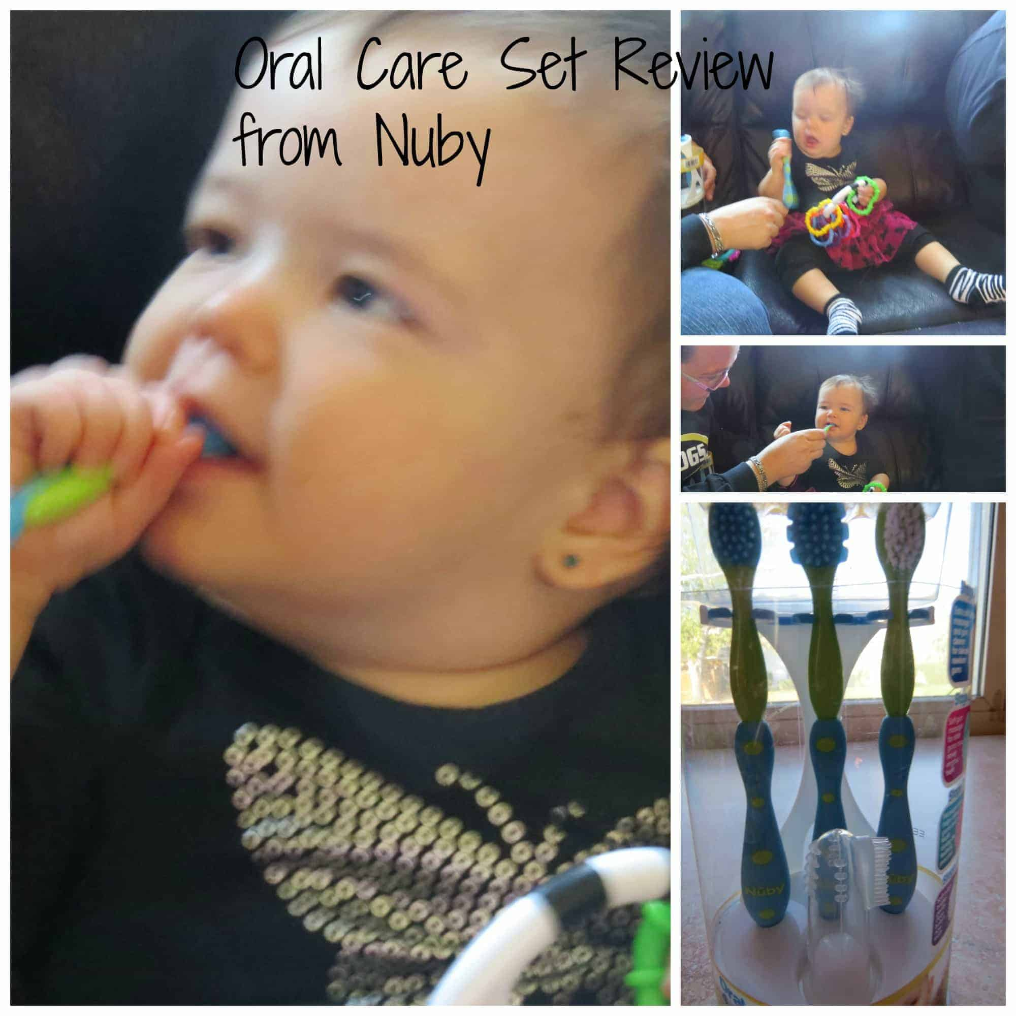 Oral Care Set Review from Nuby