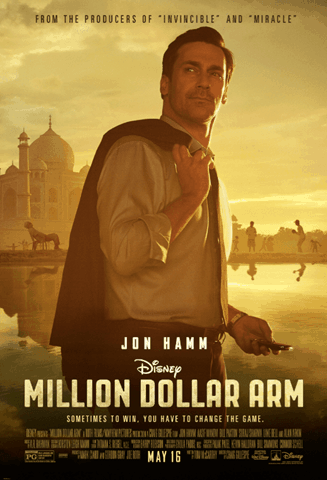 Million Dollar Arm by Disney