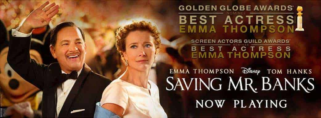 Saving Mr Banks in Theaters Today