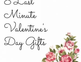 8 Last Minute Valentine's Day Gifts