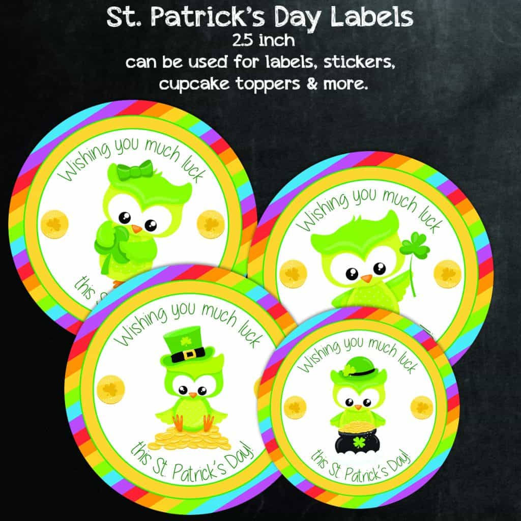 Saint Patricks Day Printables