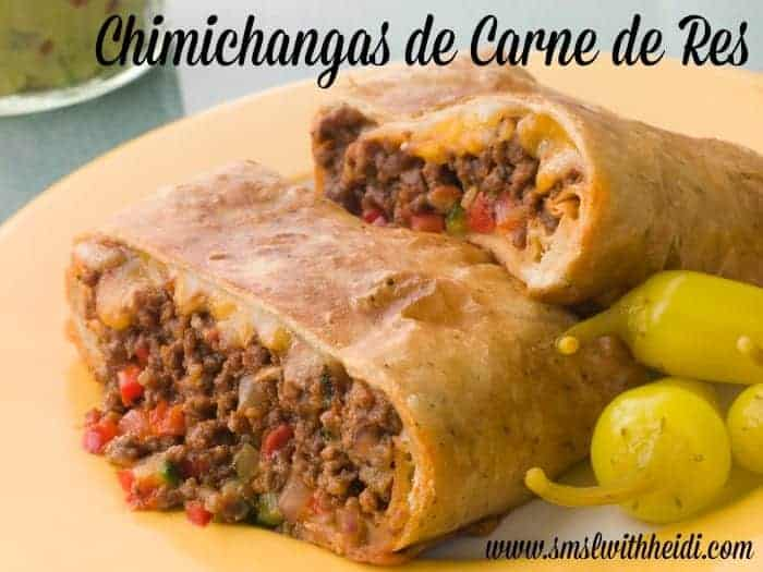 Chimichangas de Carne de Res