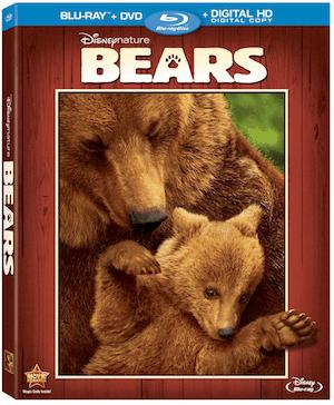 Disneynatures Bears on Blu-ray 8/12