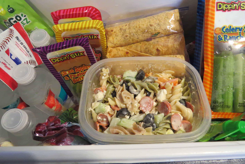 Refreshing Pasta Salad Easy On The Go Recipe