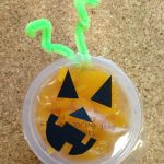 Halloween Fruit Cup Fun