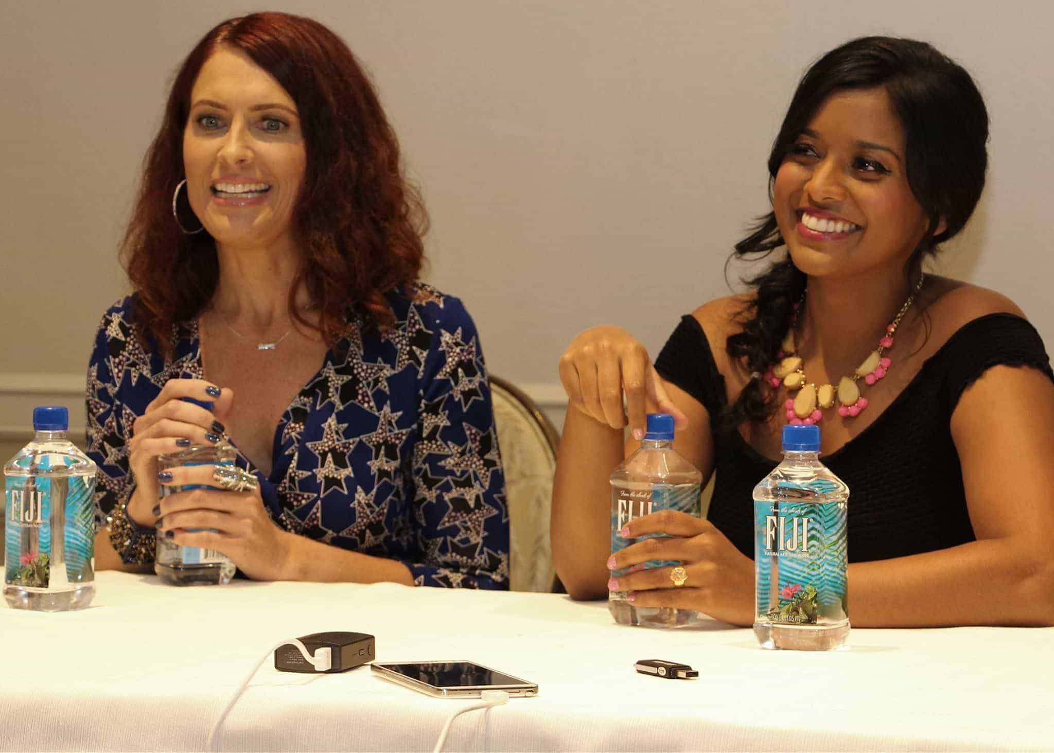 Vanessa Marshall and Tiya Sircar