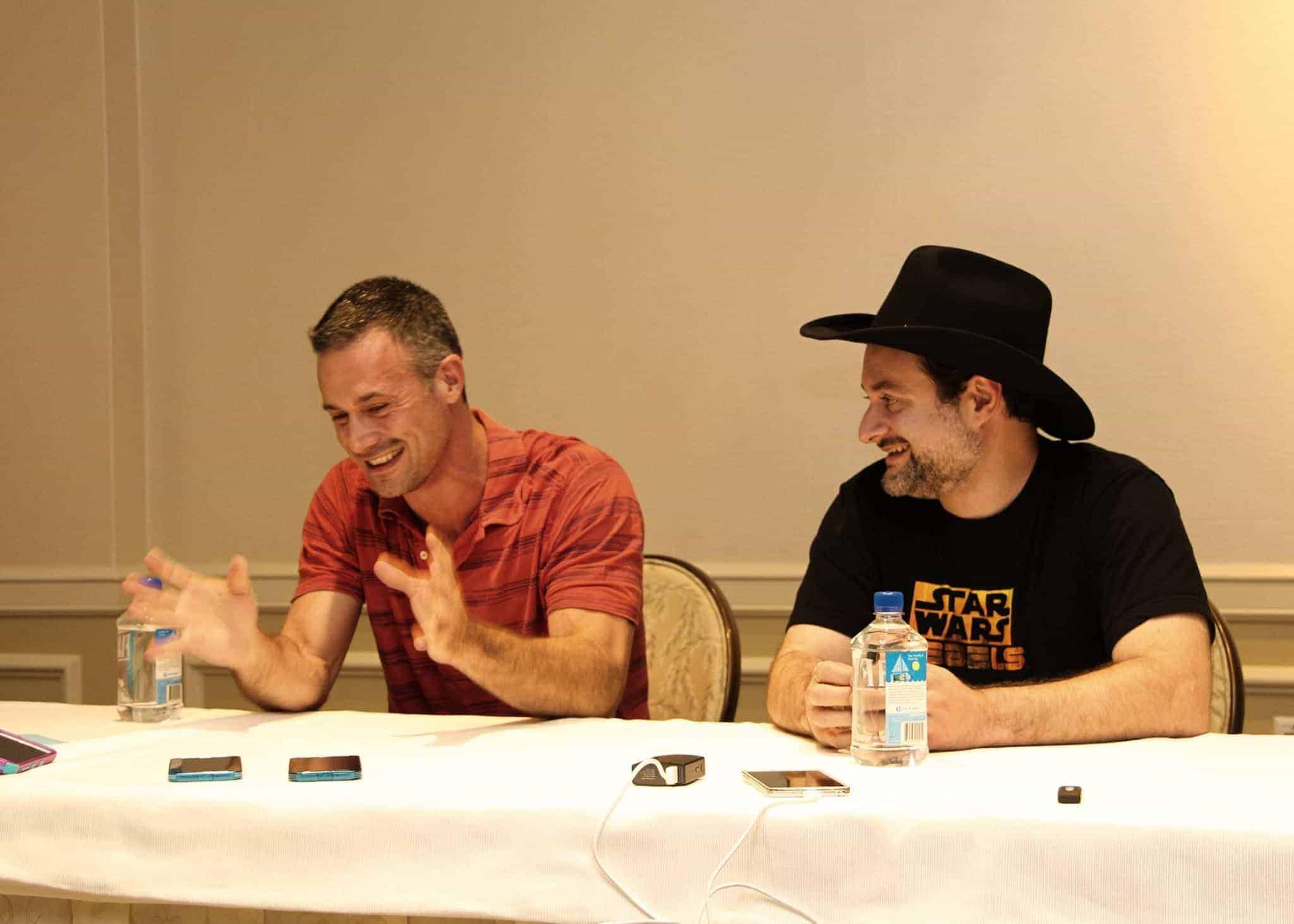 Freddie Prinze Jr and Dave Filoni Interviews