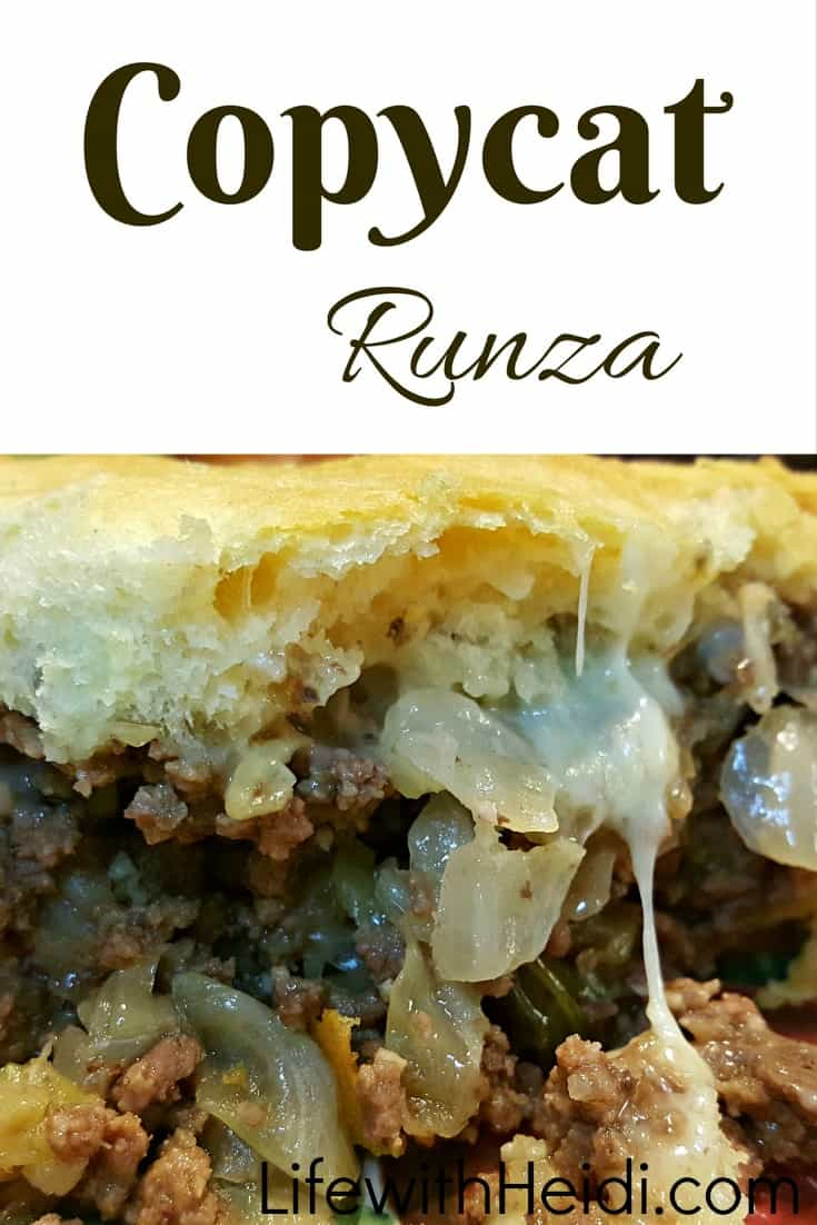 Homemade Runzas or Copycat Runzas it is really yummy with homemade bread, but this option is  much quicker. #recipes #Runzas