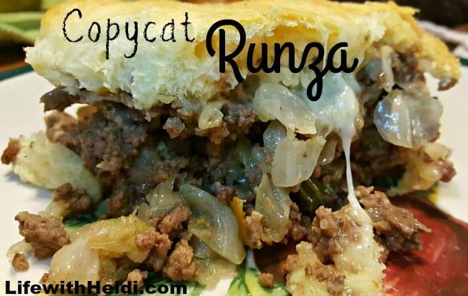 Copycat Runza Recipe