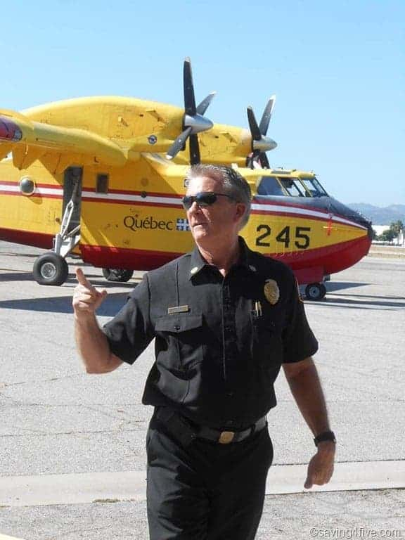 Planes Fire and Rescue Van Nuys Air Tanker Visit