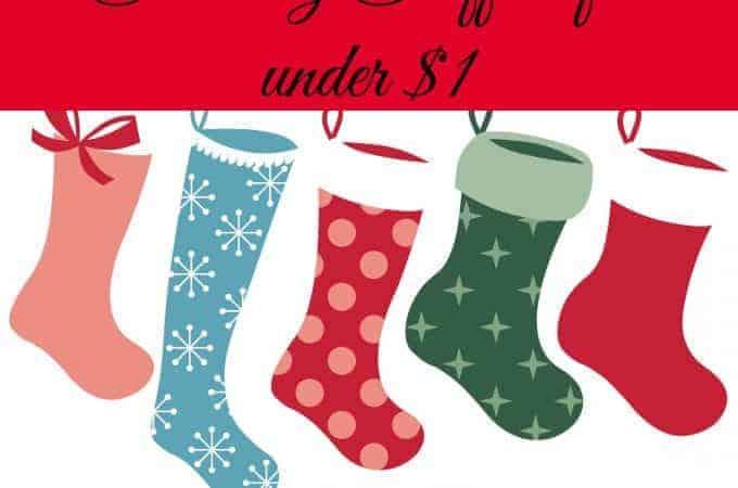 Stocking Stuffers Under $1