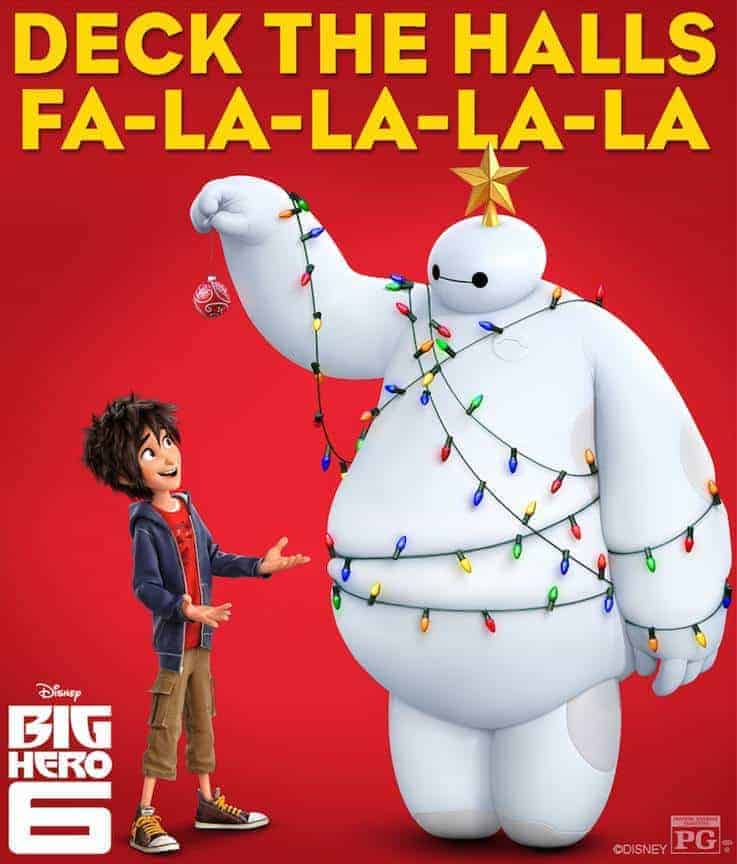 Happy Holidays from Baymax