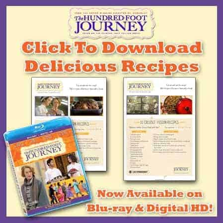 Hundred Foot Journey Recipes