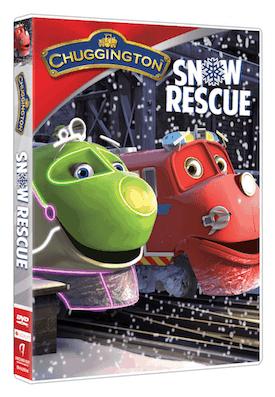 Chuggington: Snow Rescue on DVD 12/9