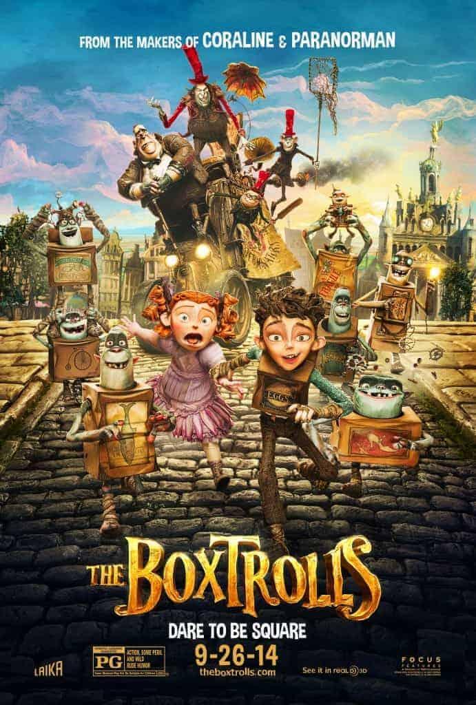 Boxtrolls Movie Review