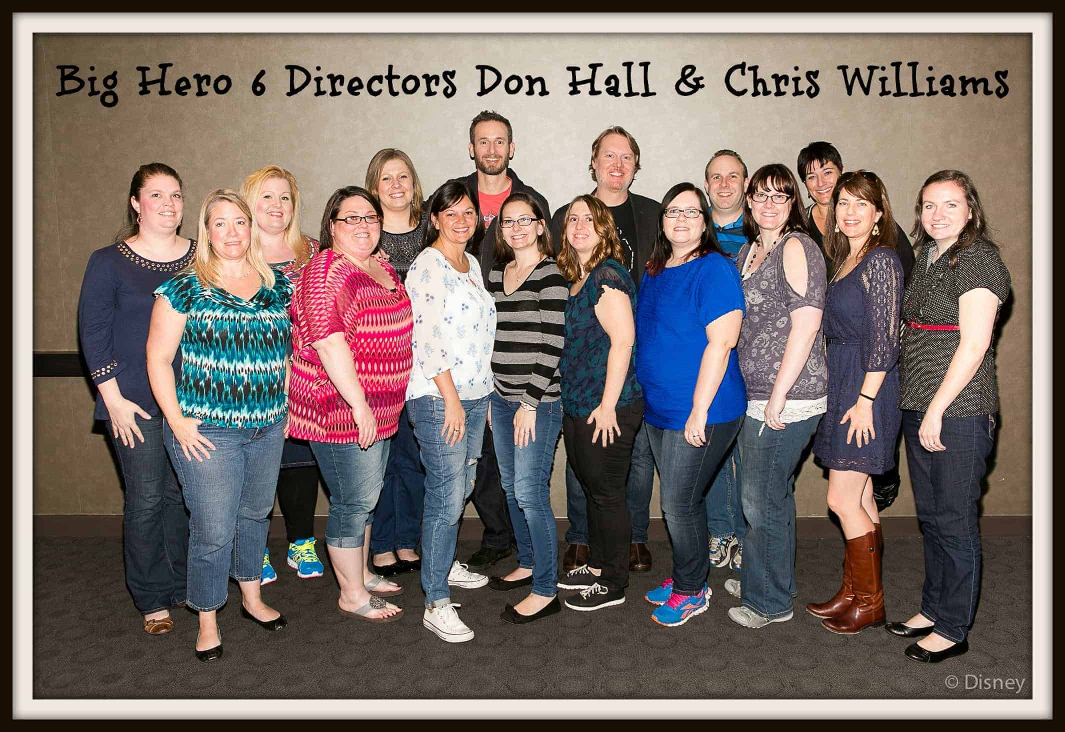 Big Hero 6 Directors Don Hall & Chris Williams