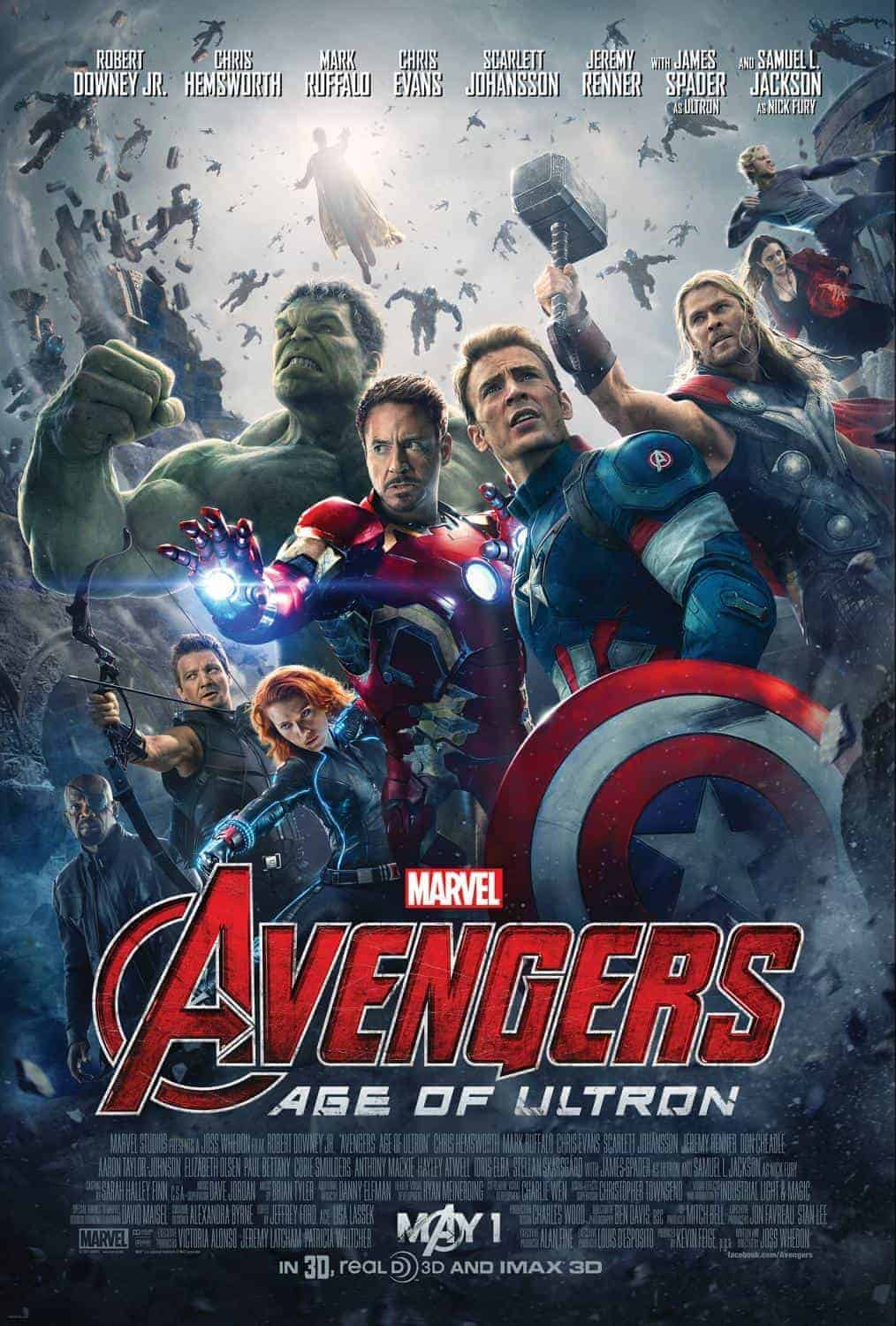 Avengers Age of Ultron Trailer 3
