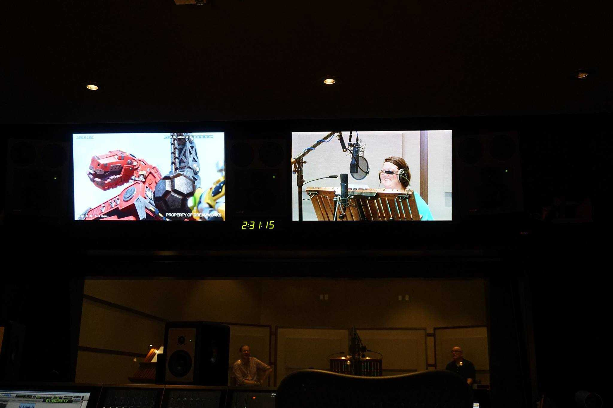 DinoTrux Voice Over Session