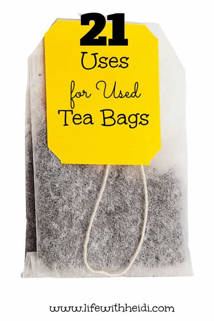 21 Uses for Used Tea Bags