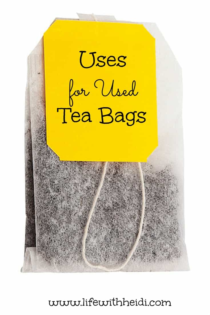 After you've enjoyed a cup of green tea – or two – let the tea bags cool and place one over each closed eye. Tea contains polyphenol particles known as tannins.