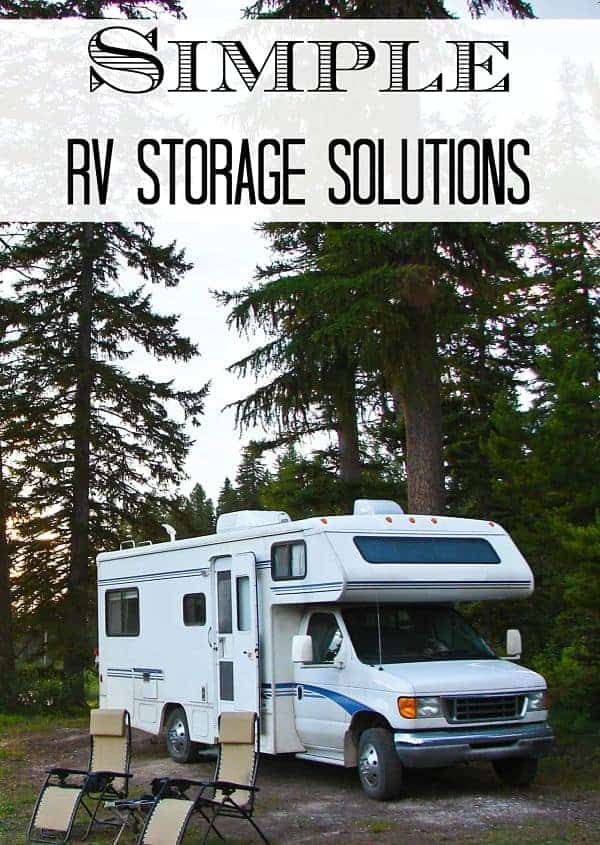 Simple RV Storage Solutions