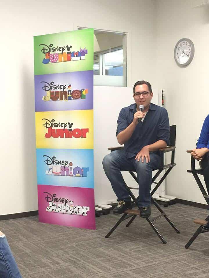 Sascha Paladino and the Disney Junior Logos