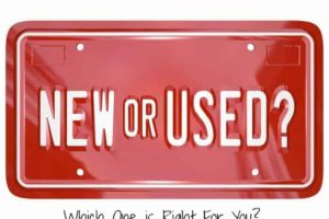 Used Car Vs. New—Which One is Right For You?