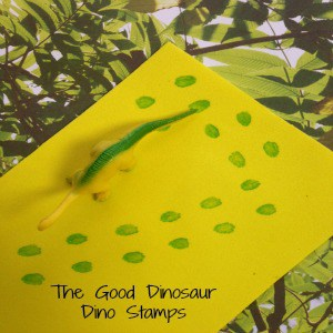 The Good Dinosaur Dino Stamps