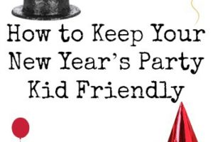 How to Keep Your New Year's Party Kid Friendly