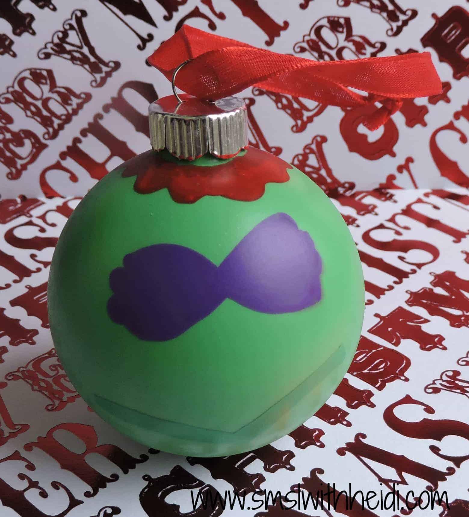 Little Mermaid Inspired Ornament