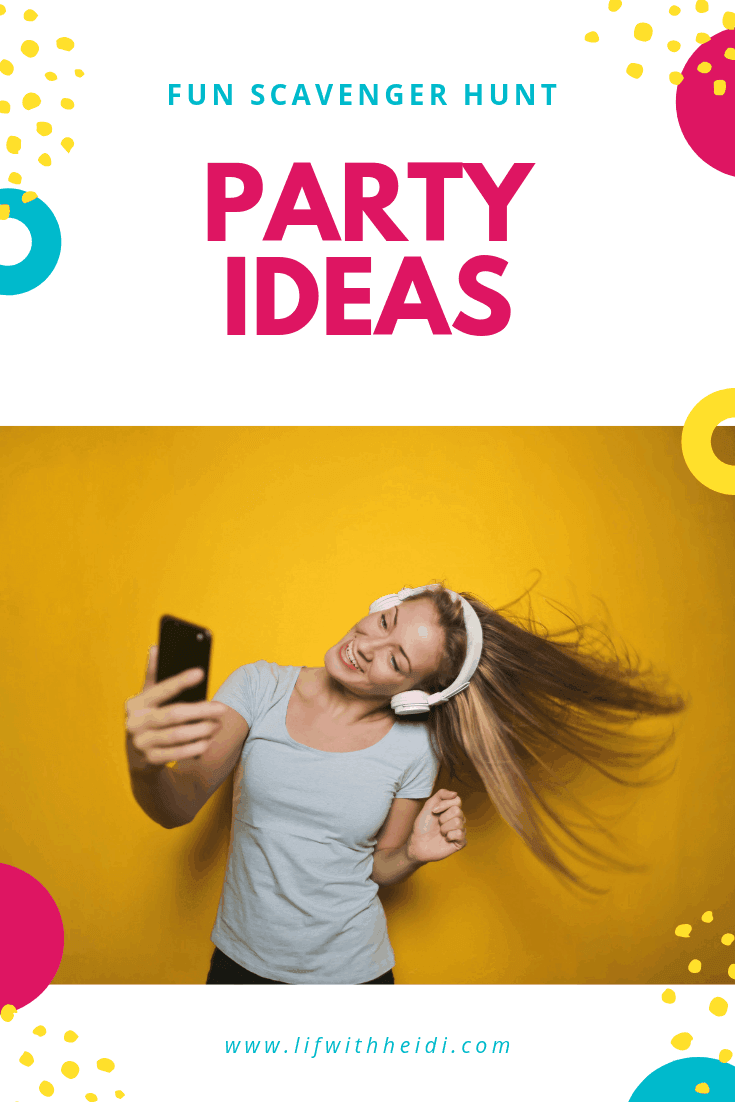 This #Selfie Scavenger Hunt is lots of fun for tweens, teens and even adults for an epic party! Help them have fun memories that will last a lifetime